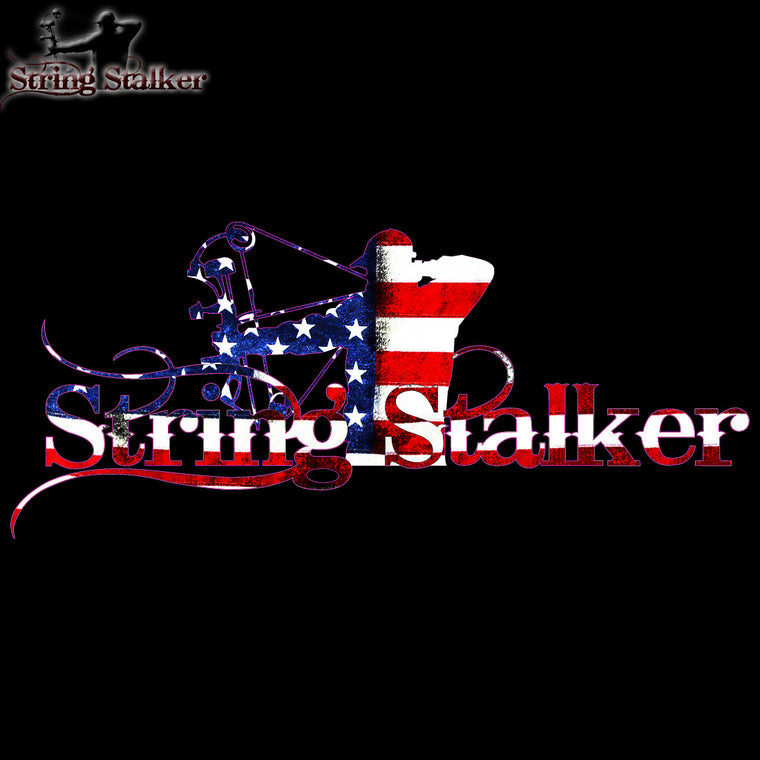 String Stalker Proud American Bow Hunter Decal - String Stalker