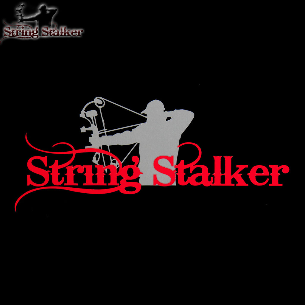 String Stalker Bow Hunting Decal 3 Pack #2 - String Stalker