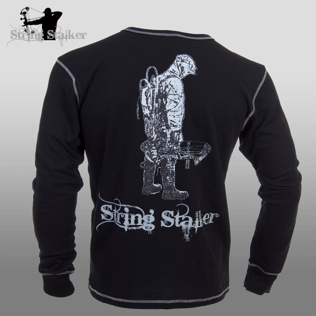 String Stalker I'm a Stalker Bow Hunter Thermal Shirt - String Stalker