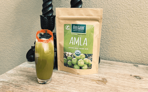 Amla Grinch Cocktail