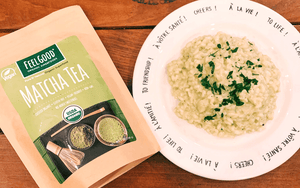 easy matcha risotto recipe