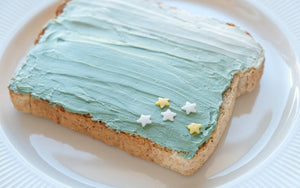 Spirulina Breakfast Toast