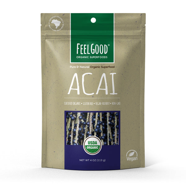 Feel Good Organic Acai Berry Powder
