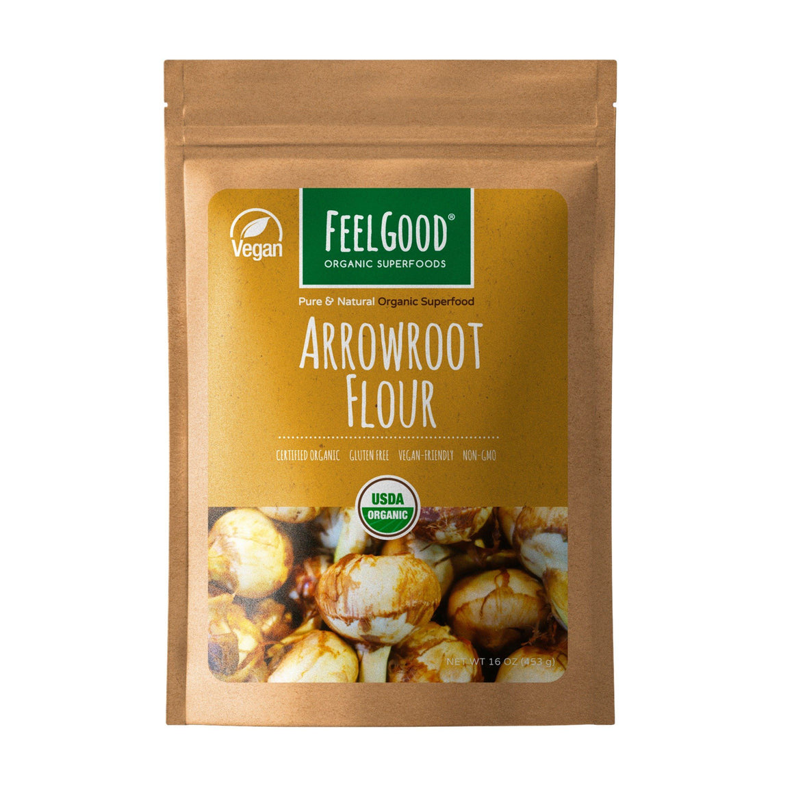 Arrowroot Flour (16oz)
