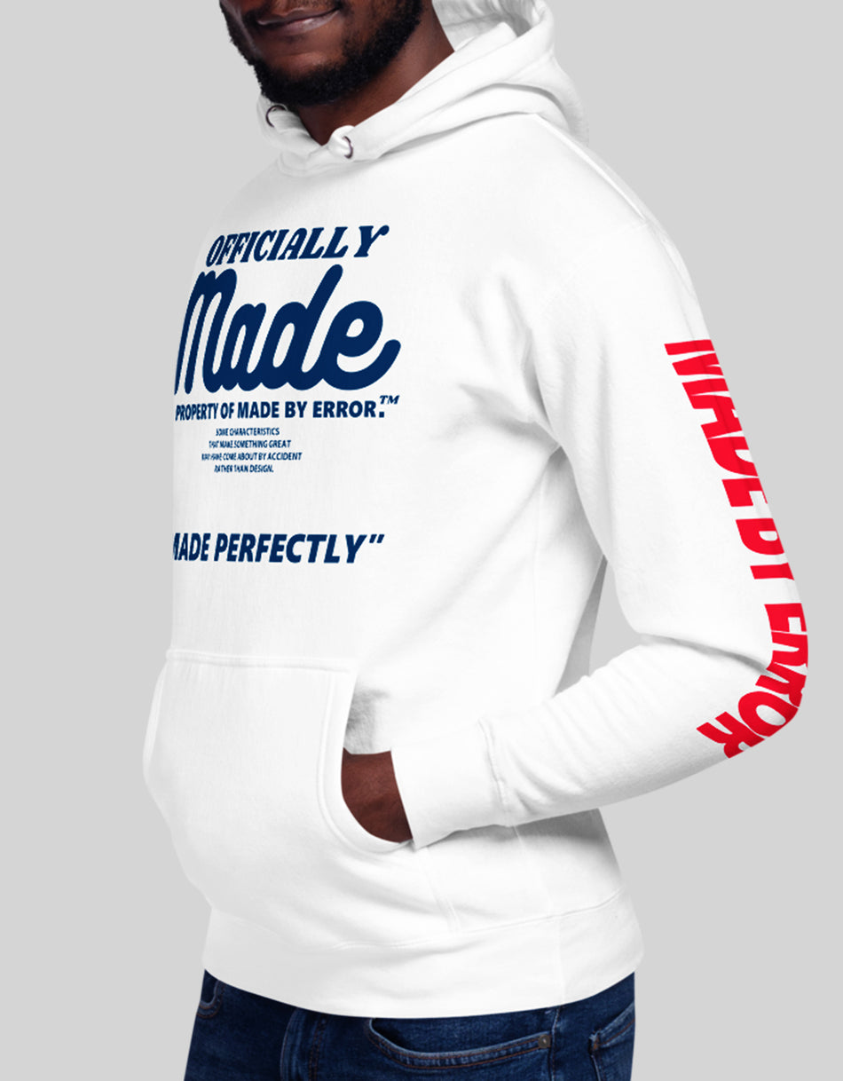 Made By Error Signature logo Hoodie