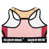 Made By Error Logo Sports Bra