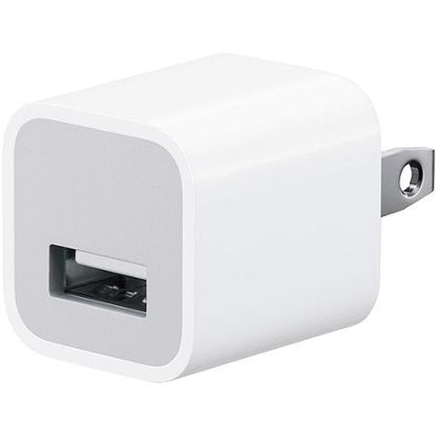 5v/1a Wall Plug USB Adapter-White
