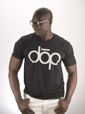dōp men's tshirt-black