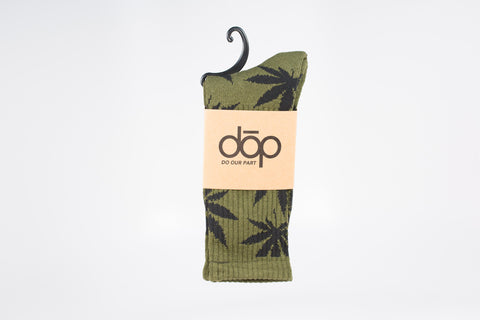 dōp® maple leaf sox-crew