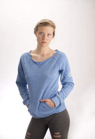 dōp® scoop neck sweatshirt-womens