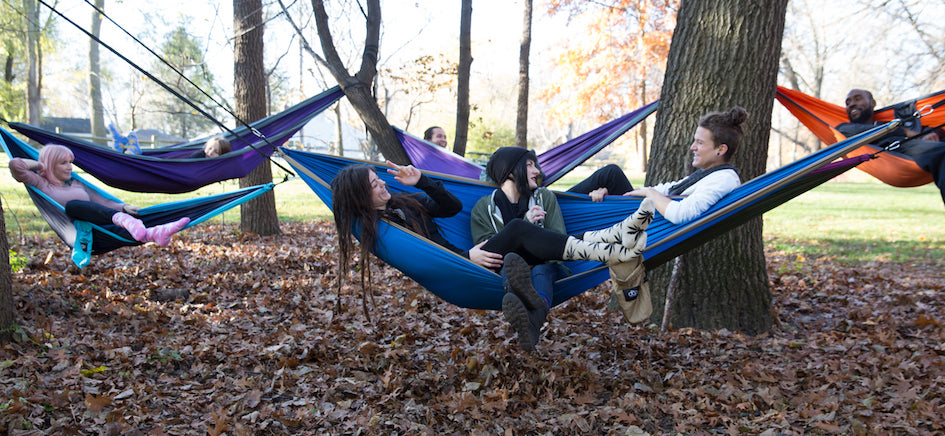 Discount Code: SLOTHIN50 Buy (1) dōp absolute hammock and get 50% off (1) dōp 19 loop suspension straps (MSRP $24.99) $12.49 in Savings!