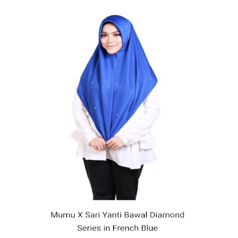 Mumu  X Sariyanti Bawal Diamond Series ( French Blue )