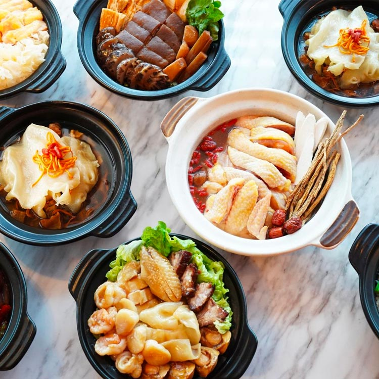 Redhouse Chinese New Year Festive Menus