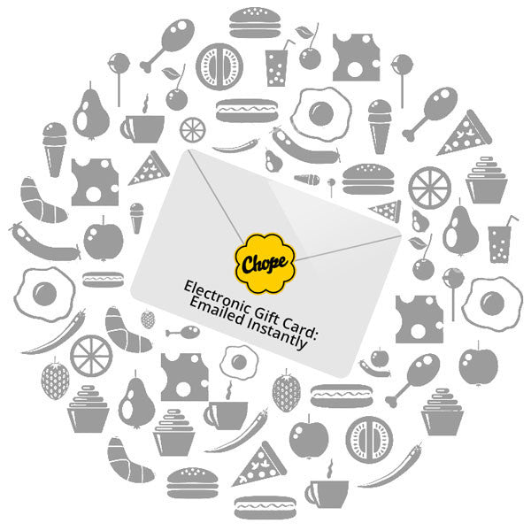 Gift Card (Issued by Chope)