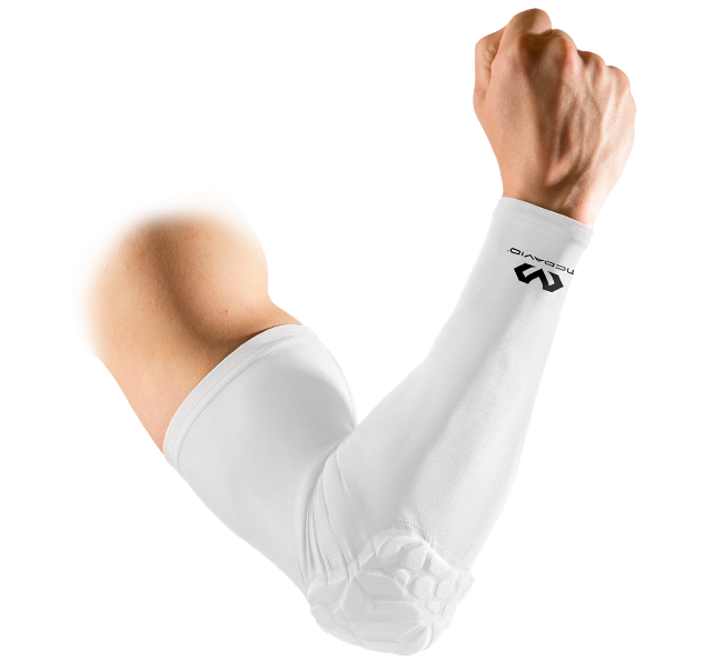 MCDAVID HEX POWER SHOOTER ARM SLEEVE WITH ELBOW PAD (single)