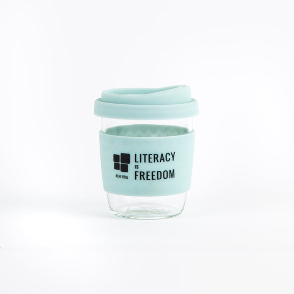 """Literacy is Freedom"" Keep Cups"