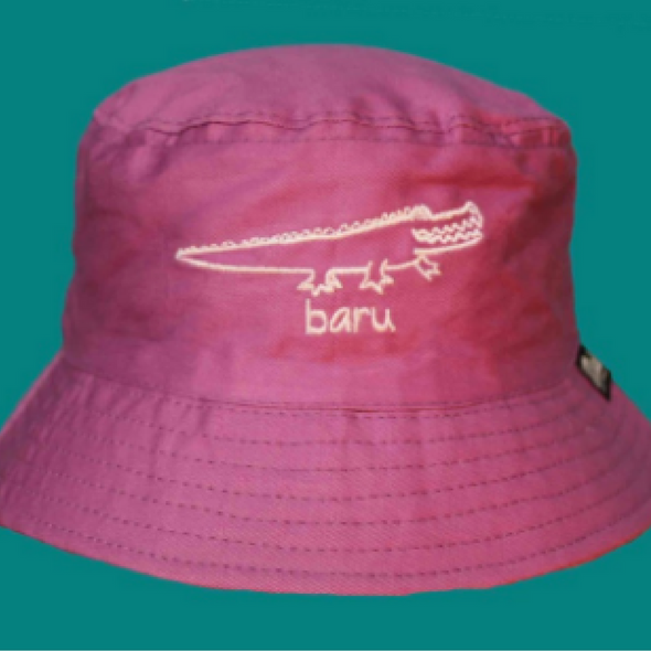 Kids Crocodile 'Baru' Bucket Hat