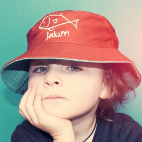 Kids Fish 'Jalum' Bucket Hat