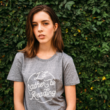 """I'd Rather Be Reading"" Grey Tee - Unisex"