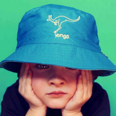 Kids Kangaroo 'Yonga' Bucket Hat