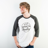 """I'd Rather Be Reading"" Raglan - Unisex"