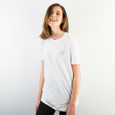 Building Blocks Silver Logo Tee - Unisex