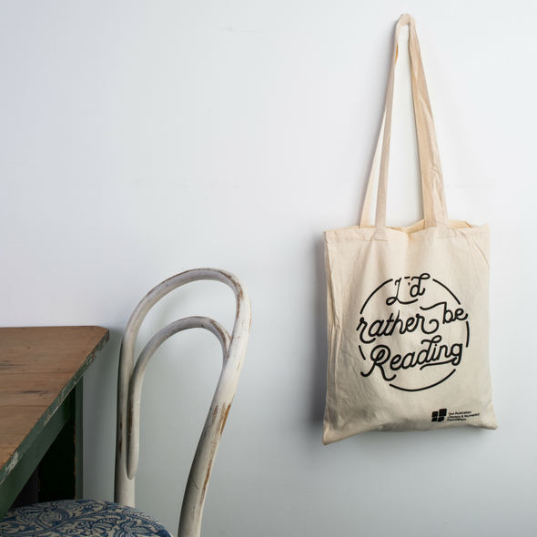 """I'd Rather Be Reading"" Tote Bag"