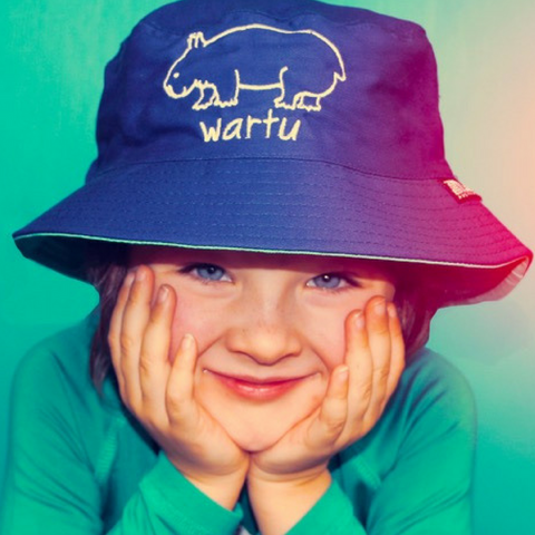 Kids Wombat 'Wartu' Bucket Hat