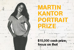 Inaugural Martin Kantor Portrait Prize - $15,000