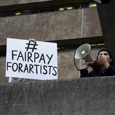 ACP supports NAVA in their Fair Pay for Artists Campaign