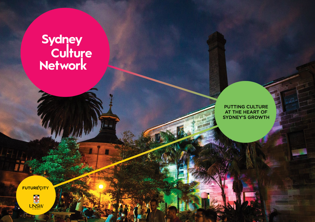 Sydney Culture Network officially launched October 2017