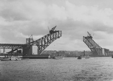 16.11.16 - 10.12.16 Exhibition: Henri Mallard, Building the Sydney Harbour Bridge