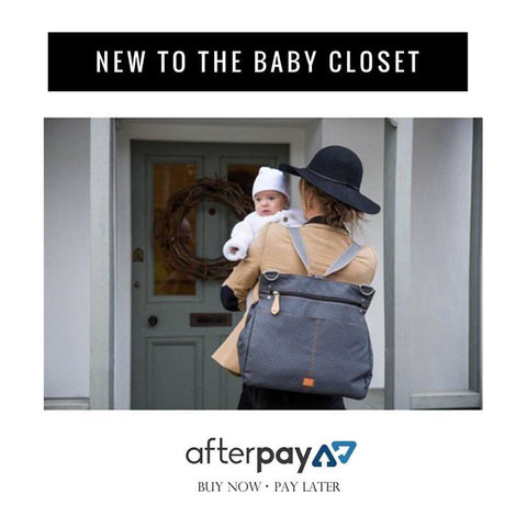 Afterpay at The Baby Closet Online Store