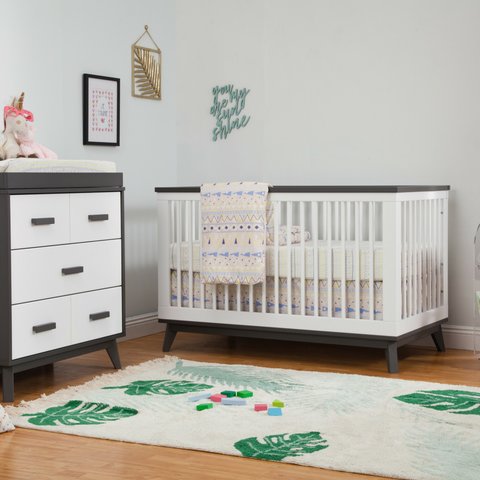 Babyletto Scoot Cot and Change Table