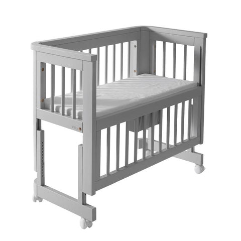 Troll Sun Baby Bedside Bassinet in Grey