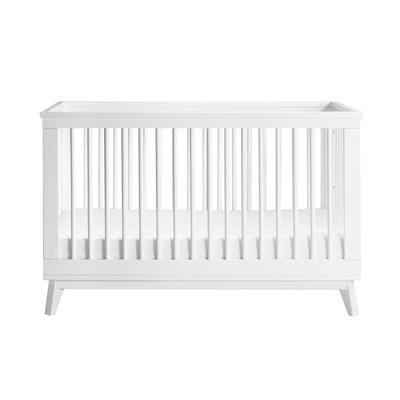Babyletto Scoot 3 in 1 Cot - White
