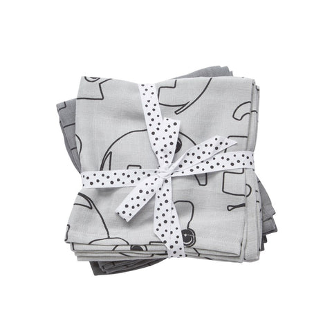 Done by Deer Baby Swaddles - Contour Grey