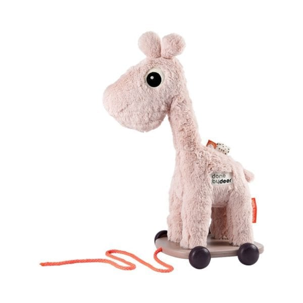 Done by Deer Pull Along & Soft Toy - Giraffe