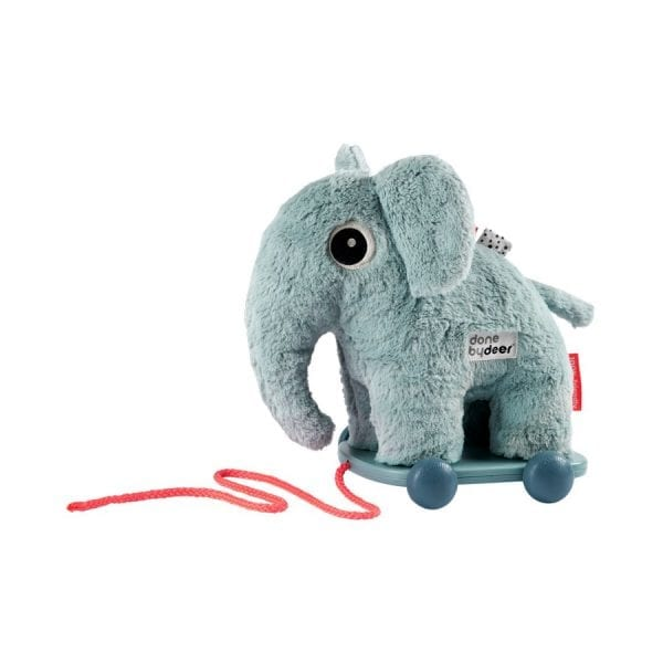 Done by Deer Pull Along & Soft Toy - Elephant