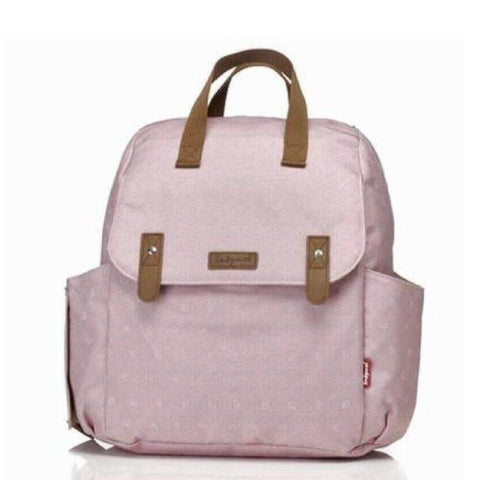 Babymel Robyn Convertible Nappy Bag - Origami Heart Pink