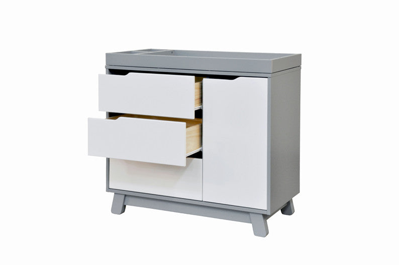 ... Babyletto Hudson Change Table/Dresser   Grey And White ...