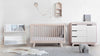 Babyletto Hudson Change Table/Dresser - Washed Natural and White
