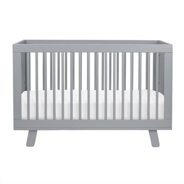 Babyletto Hudson 3 in 1 Cot - Grey