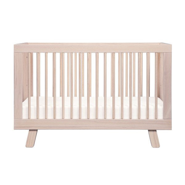 Babyletto Hudson 3 in 1 Cot - Washed Natural