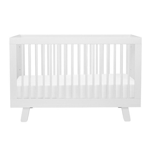 Babyletto Hudson 3 in 1 Cot - White