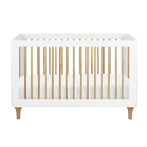 Babyletto Lolly 3 in 1 Cot - White and Natural
