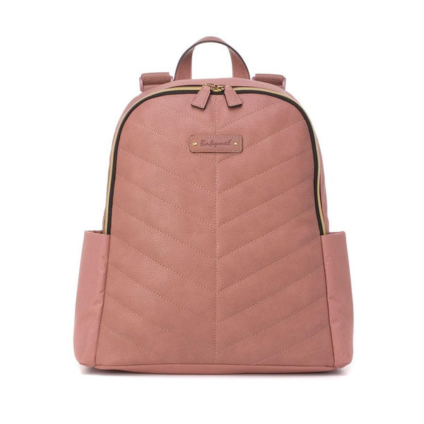 Babymel Gabby Vegan Leather Backpack Nappy Bag - Dusty Pink