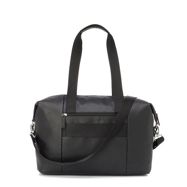 Babymel Stef Vegan Leather Hospital Bag - Black