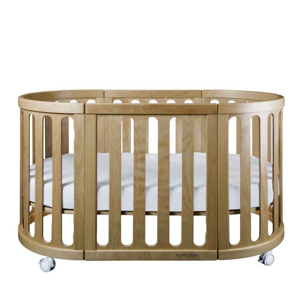 Cocoon Nest 4 in 1 Cot - Natural