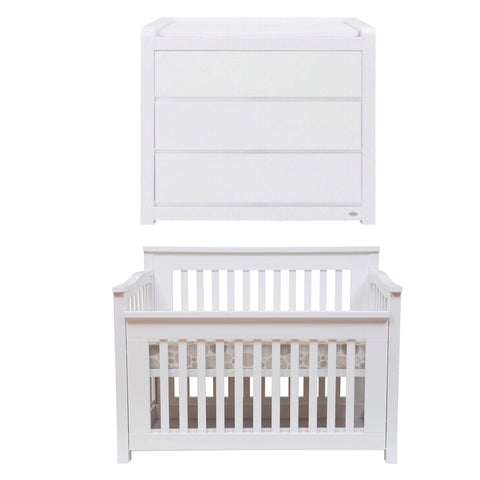 Cocoon Flair Cot and Change Table Package
